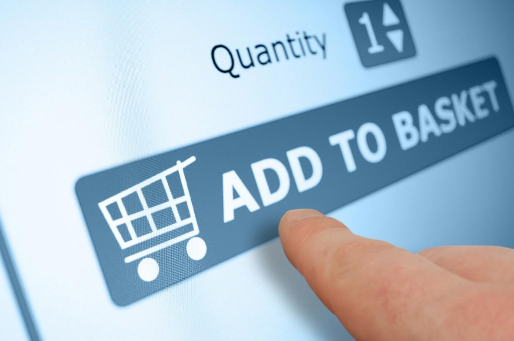 añadir a la cesta tienda online