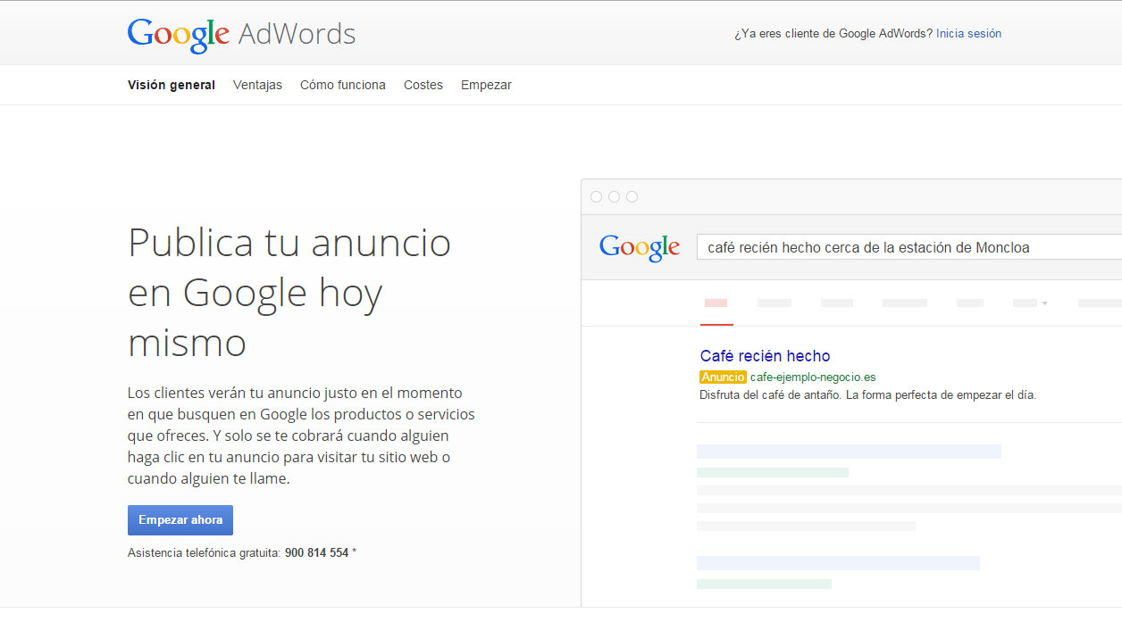 Google Adwords para Android