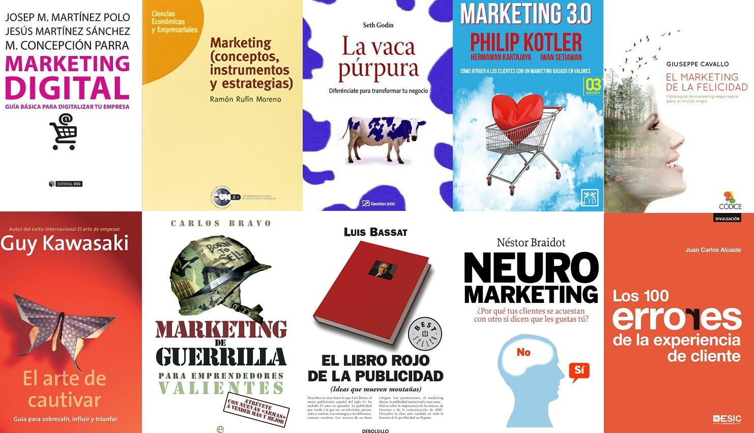 10 Mejores libros Marketing