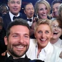Selfie celebrities en los Oscar en Twitter
