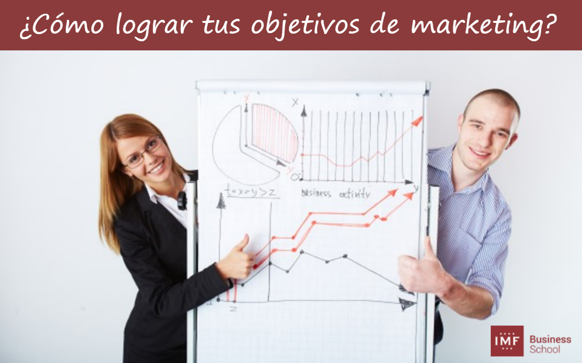 lograr objetivos marketing