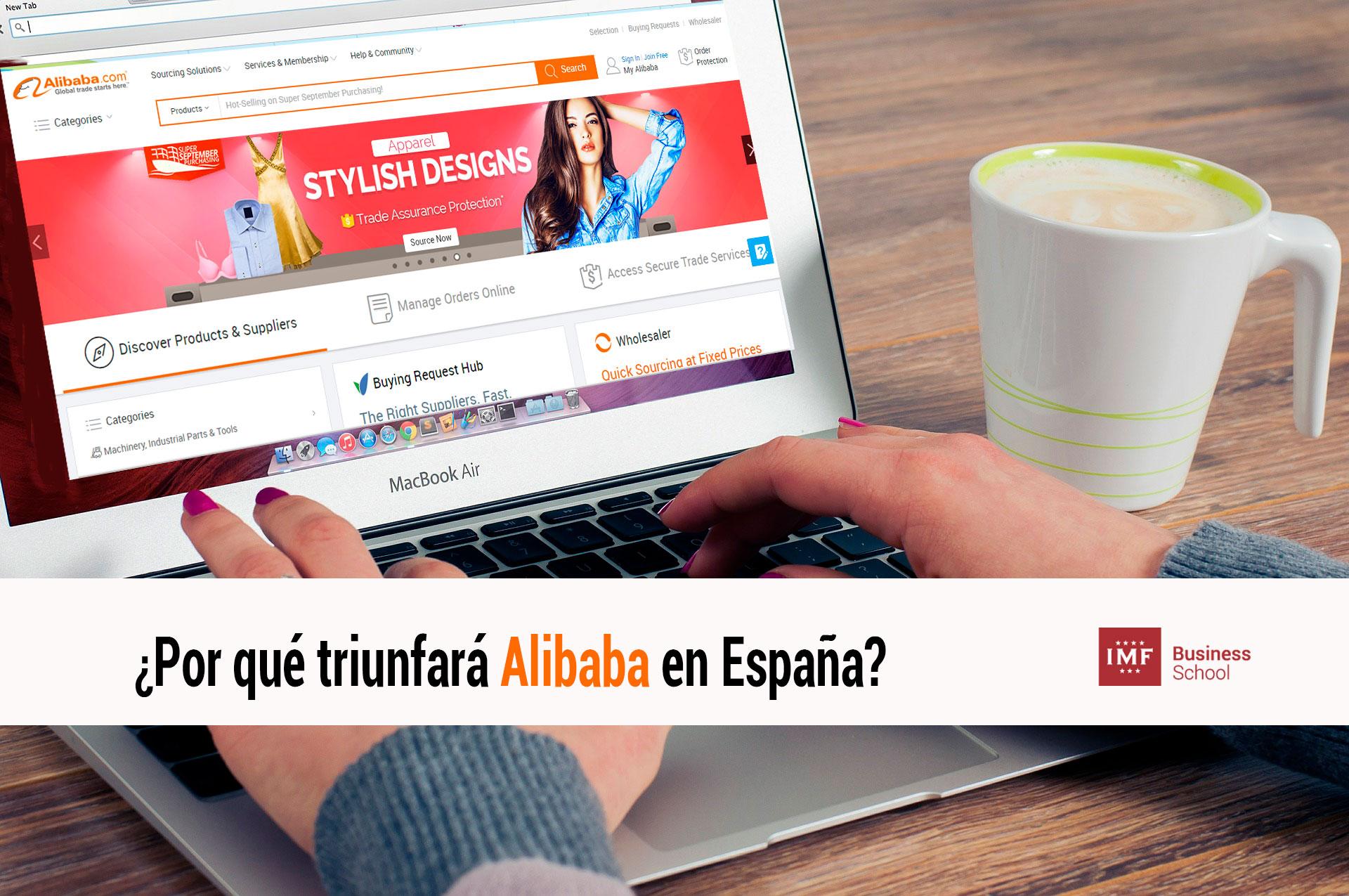 Por qué triunfará Alibaba en España