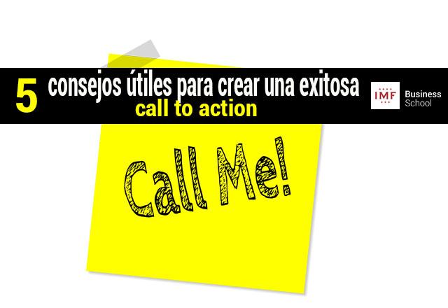 cta o llamada a la acción