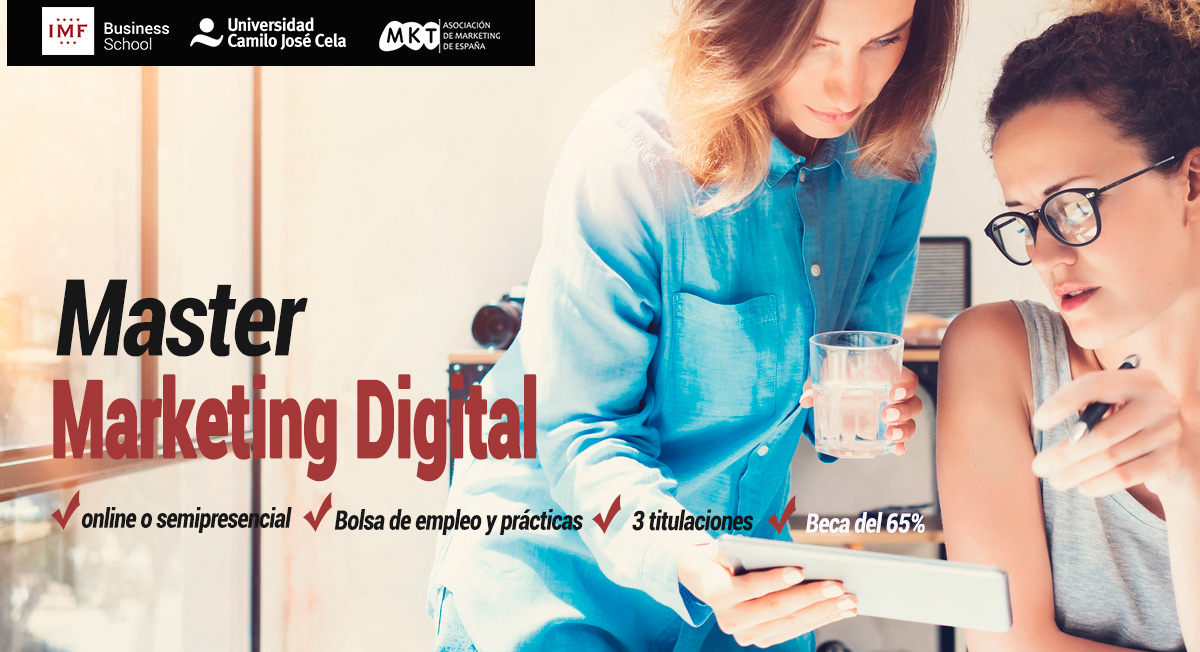 Master Marketing Digital de IMF Online