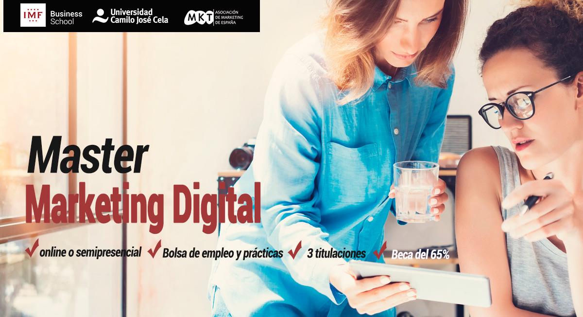 Master Marketing Digital de IMF Online