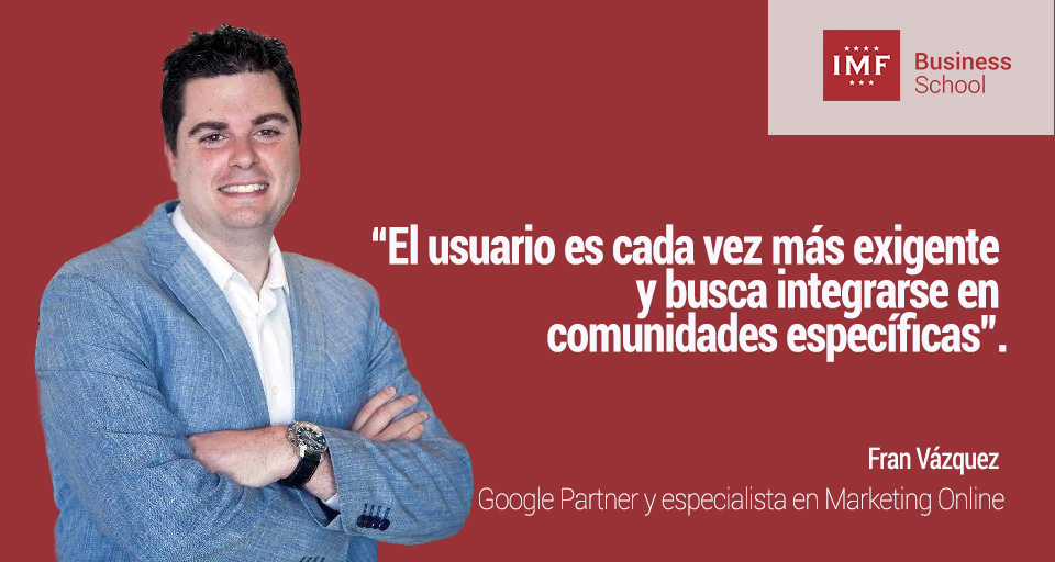 Fran Vázquez Google. Entrevista sobre Marketing Digital