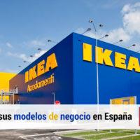 los modelos de negocio de ikea en espana