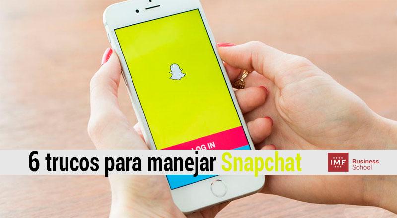 Cómo funciona Snapchat: los 6 mejores trucos
