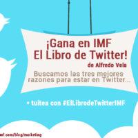 Concurso #ElLibrodeTwitter de Alfredo Vela