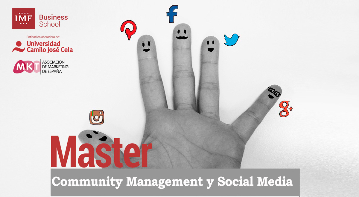 Master Social Media y Community Management de IMF