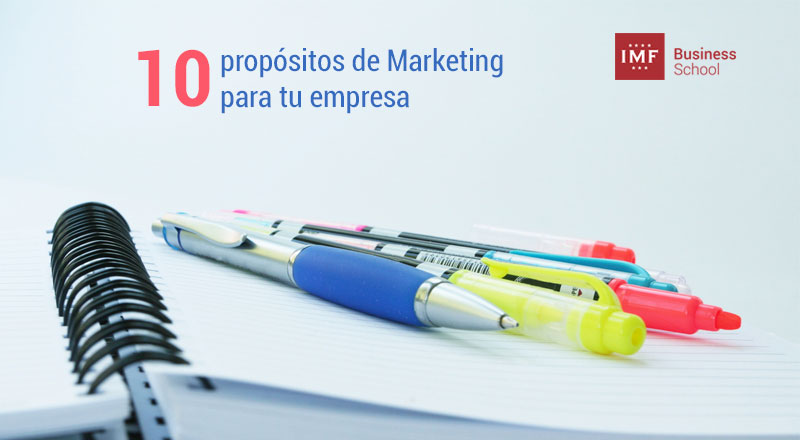 propositos de marketing para la empresa