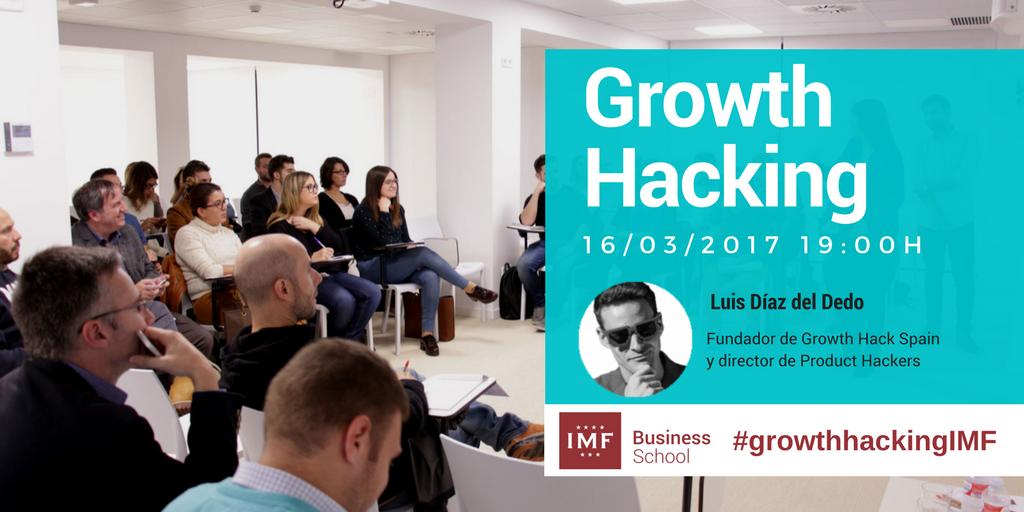 Ponencia de Luis Diz del Dedo sobre el Growth Hacking