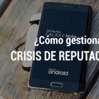 crisis de reputacion de samsung