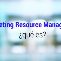 que es el marketing resource management