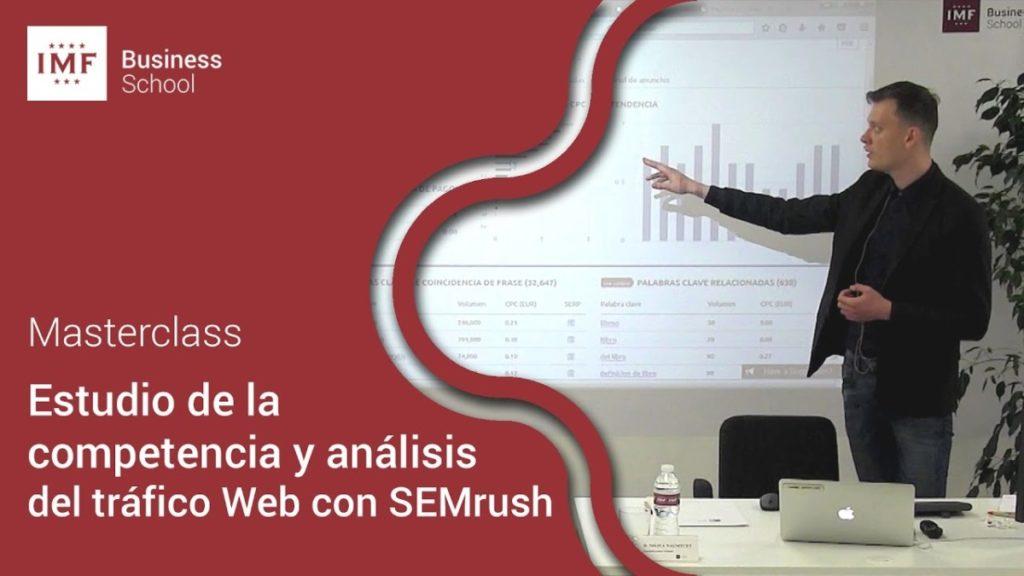 Masterclass Analítica Digital con SEMrush