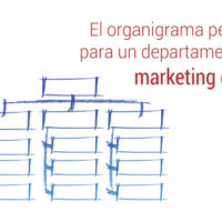 el organigrama del departamento de marketing digital