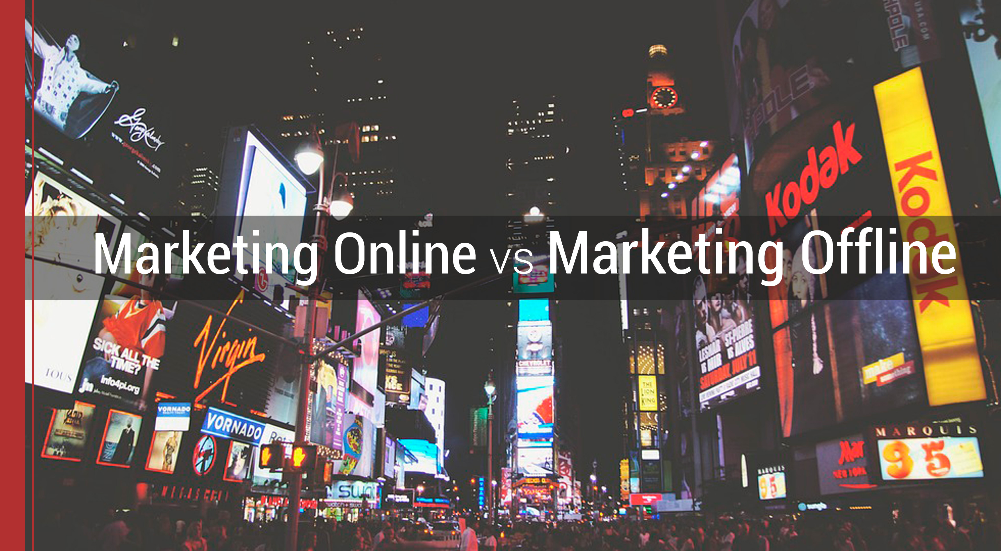 estrategias de marketing offline y online