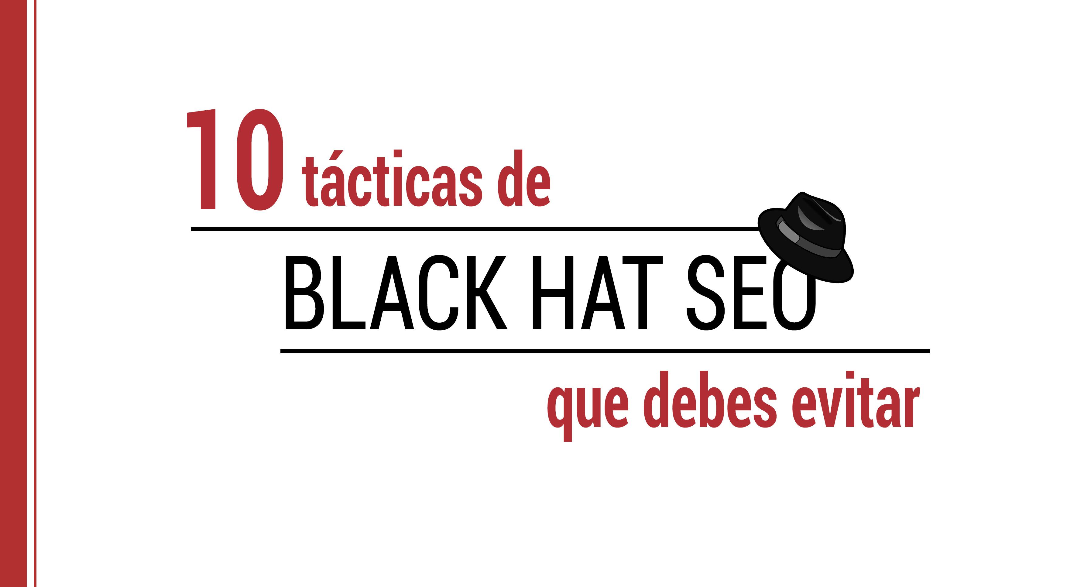 tacticas de black hat seo
