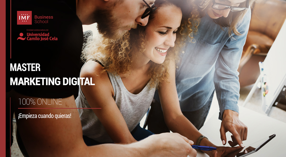 Master Marketing Digital de IMF Business School