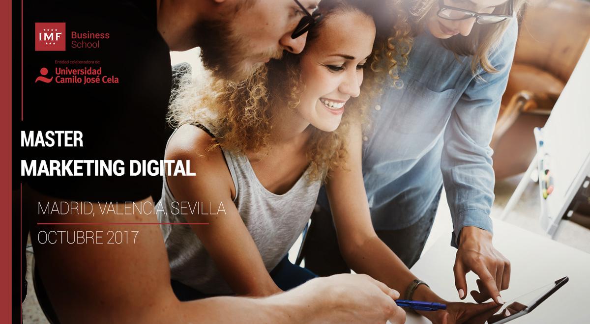 master en marketing digital imf