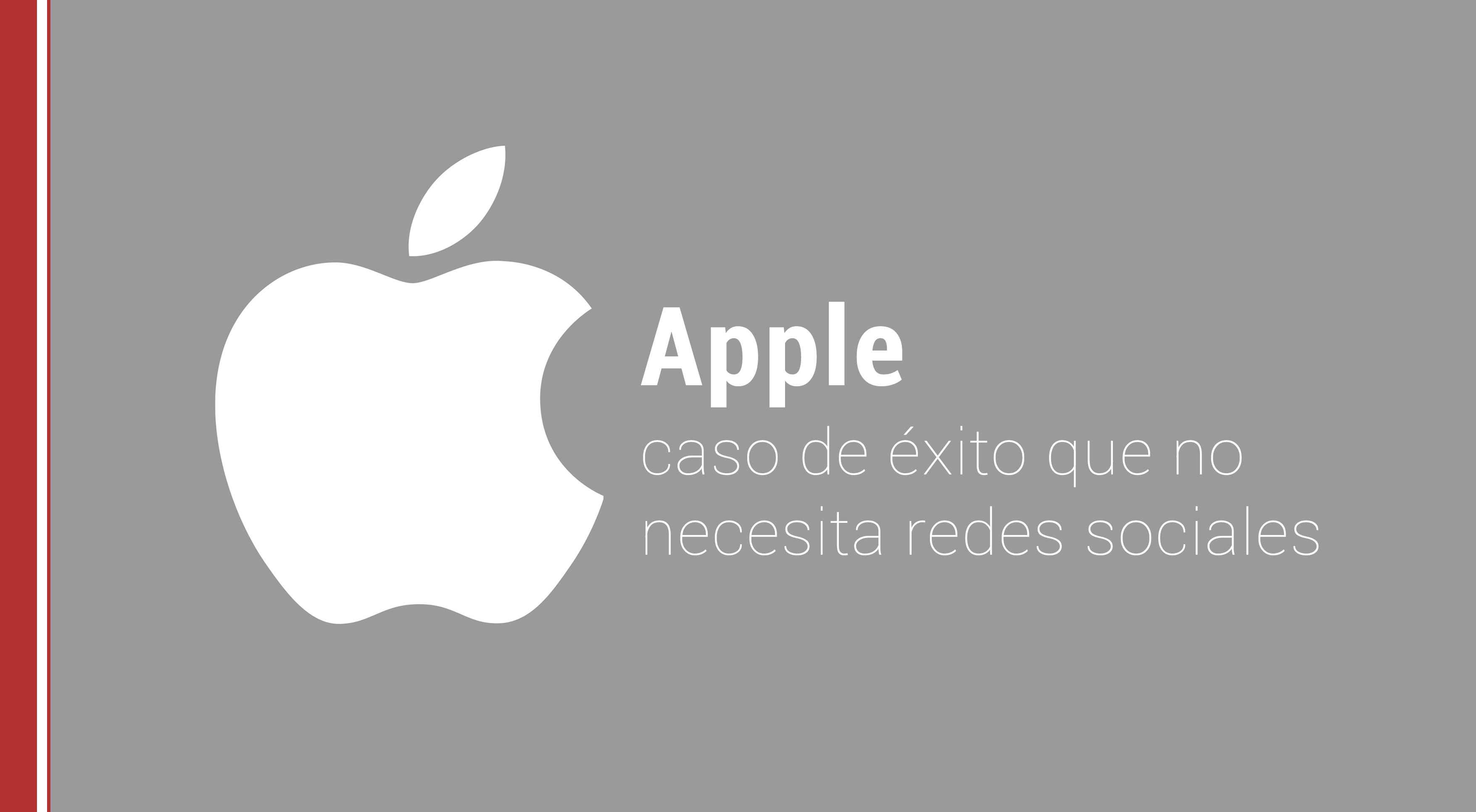 apple como caso de exito