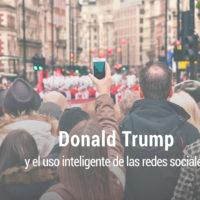 las redes sociales y donald trump