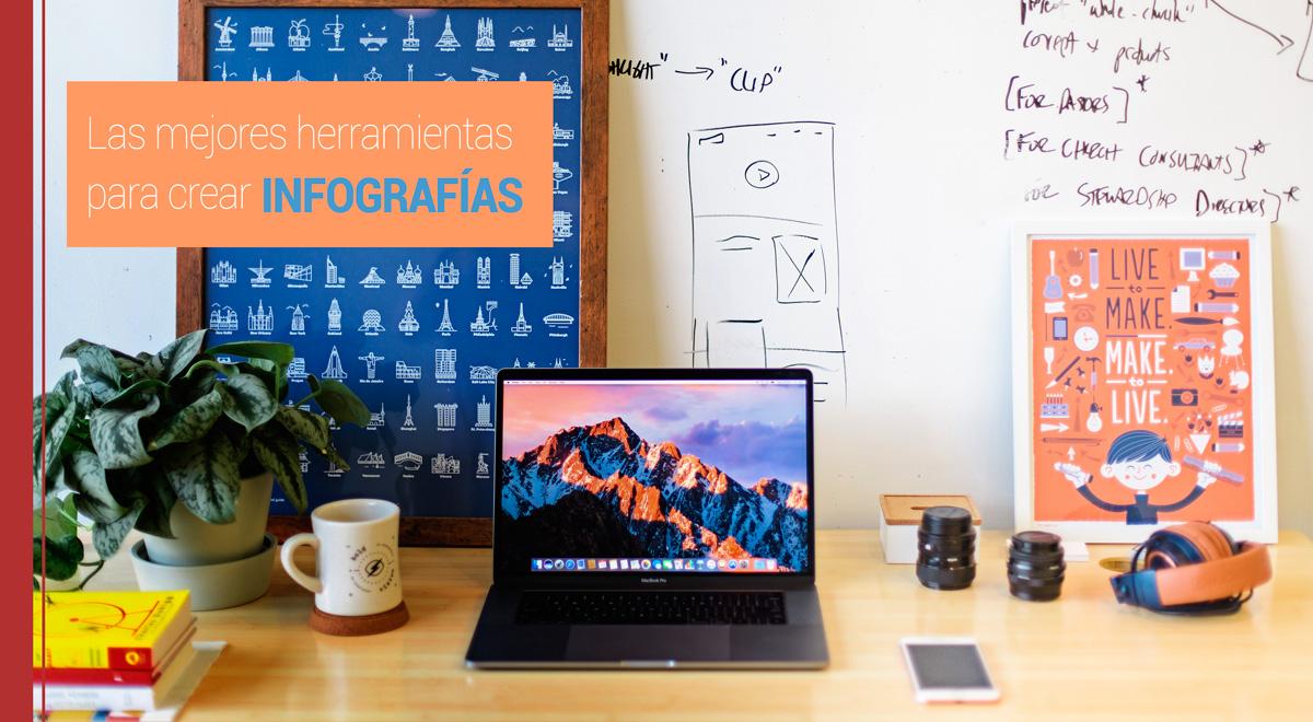 herramientas infografías, canva piktochart