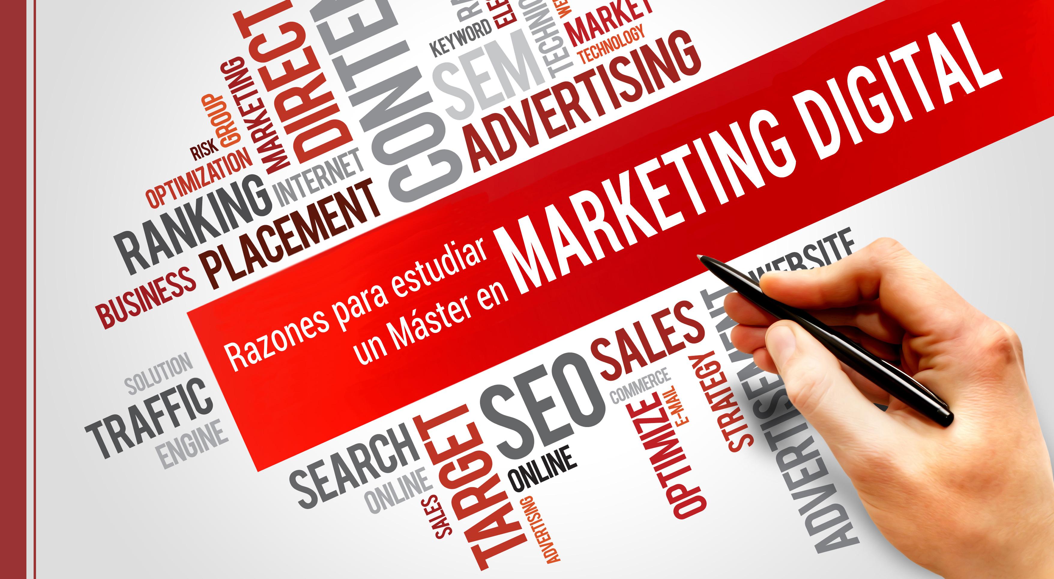 por que debemos estudiar un master en marketing digital