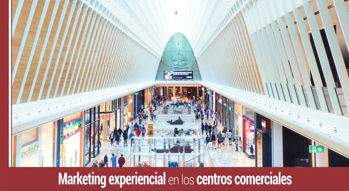 experiencias de compra en un centro comercial