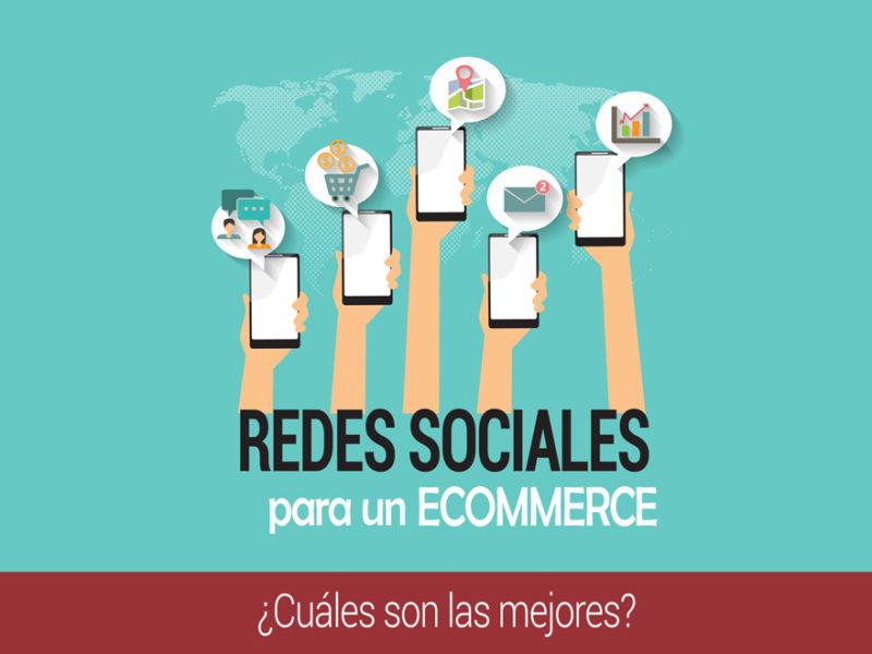 redes sociales ideales para un ecommerce