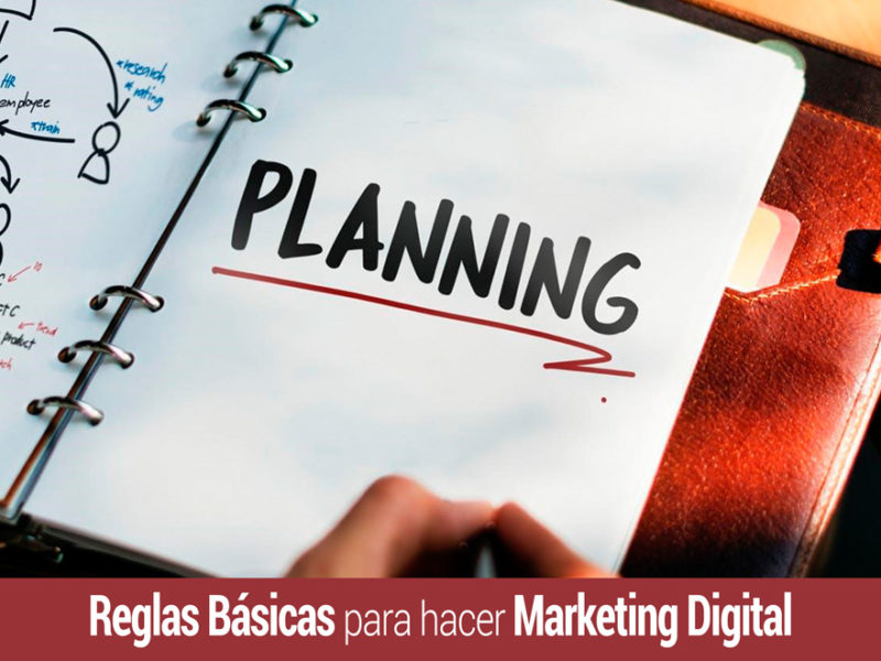 hacer marketing digital basado en estas reglas