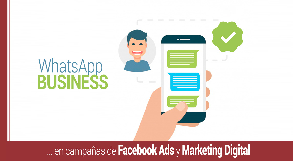 whatsapp business en campanas de facebook ads