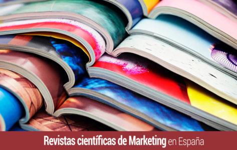 cual es la situacion de las revistas cientificas sobre marketing en espana