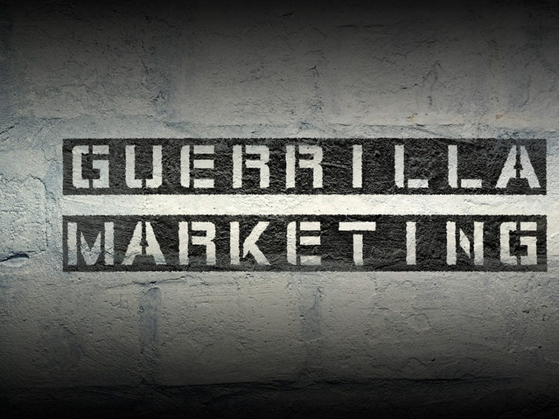 ejemplos de marketing de guerrilla
