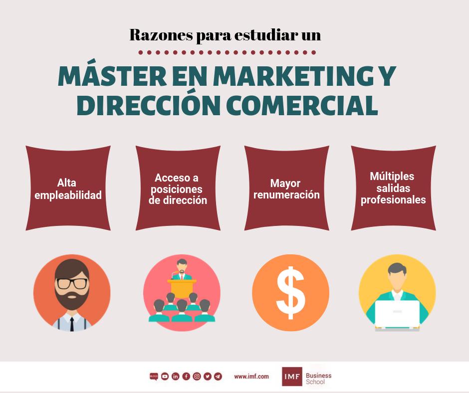 razones para cursar un master de marketing y direccion comercial