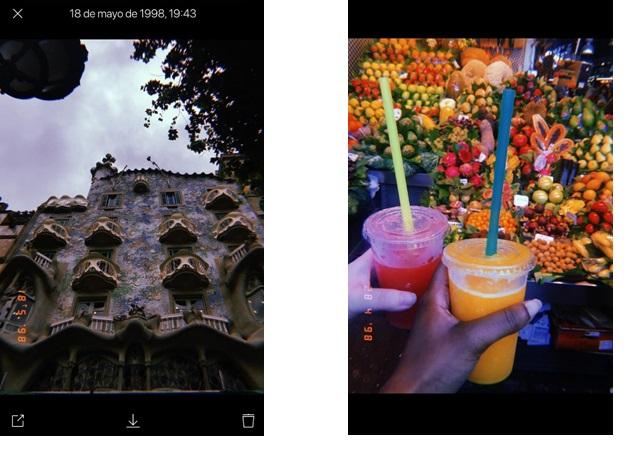 huji fotos app
