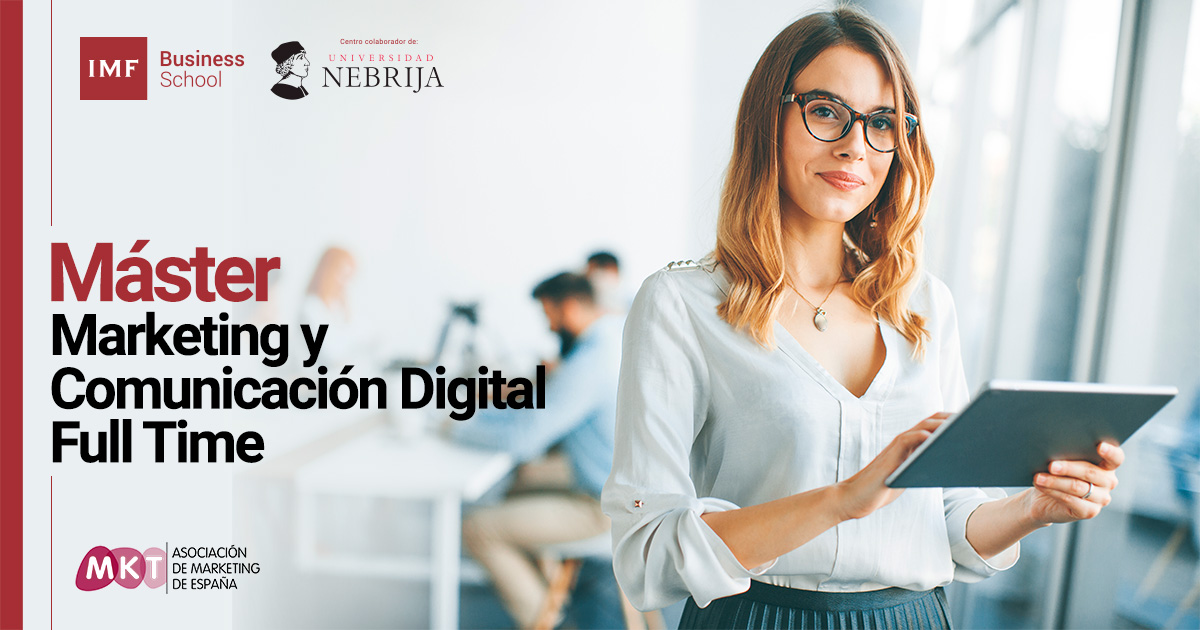 master marketing digital full time