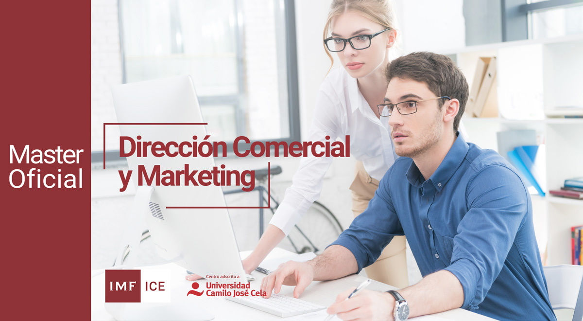 master oficial direccion comercial marketing