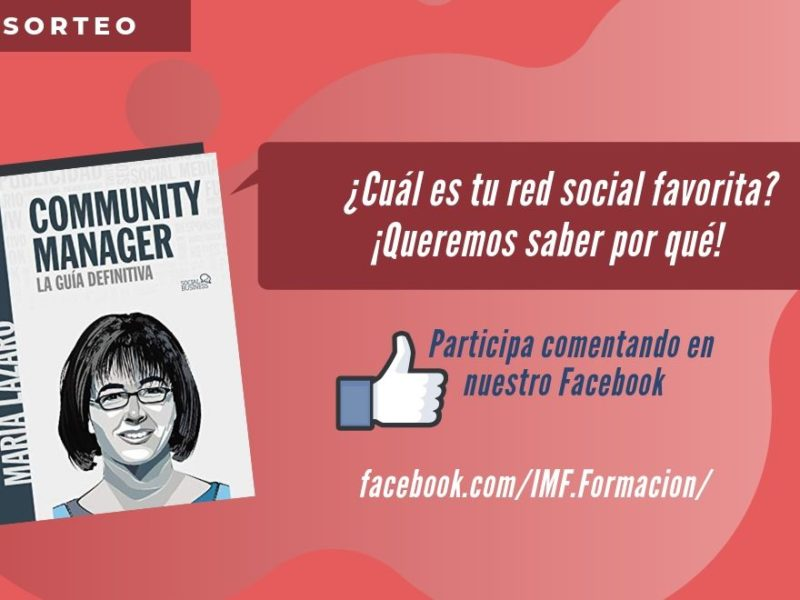 Concurso Libro Community Manager de María Lázaro
