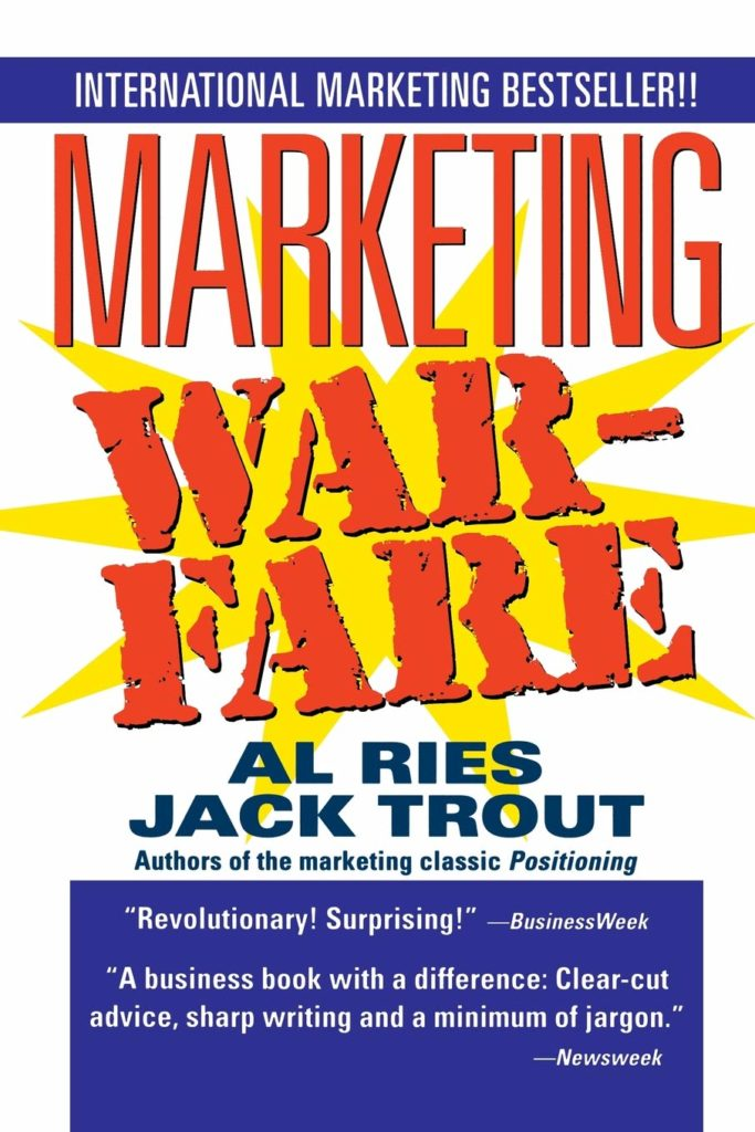 Marketing Warfare de Al Ries y Jack Trout libro