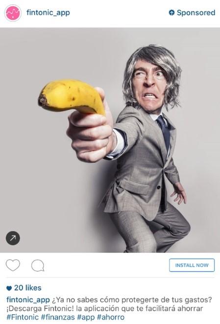 ejemplo de instagram ads