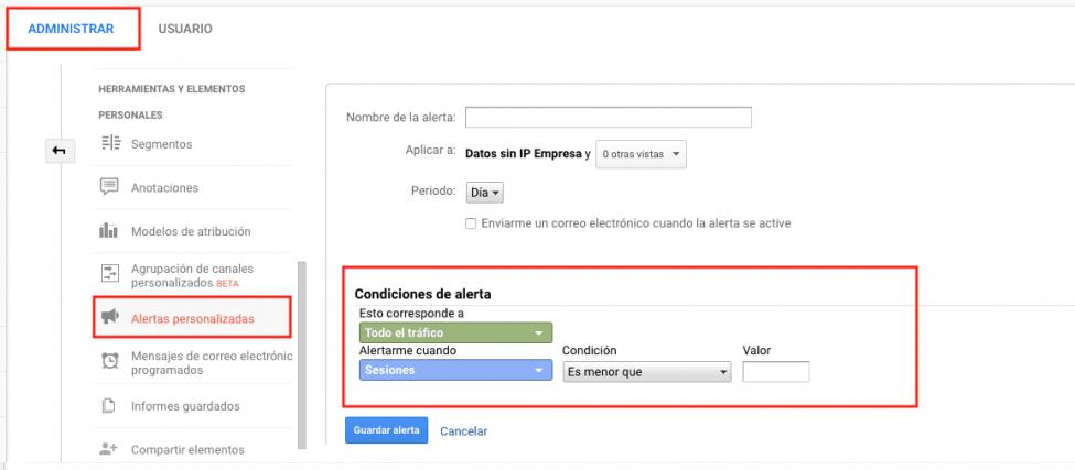 google analytics funcionalidades
