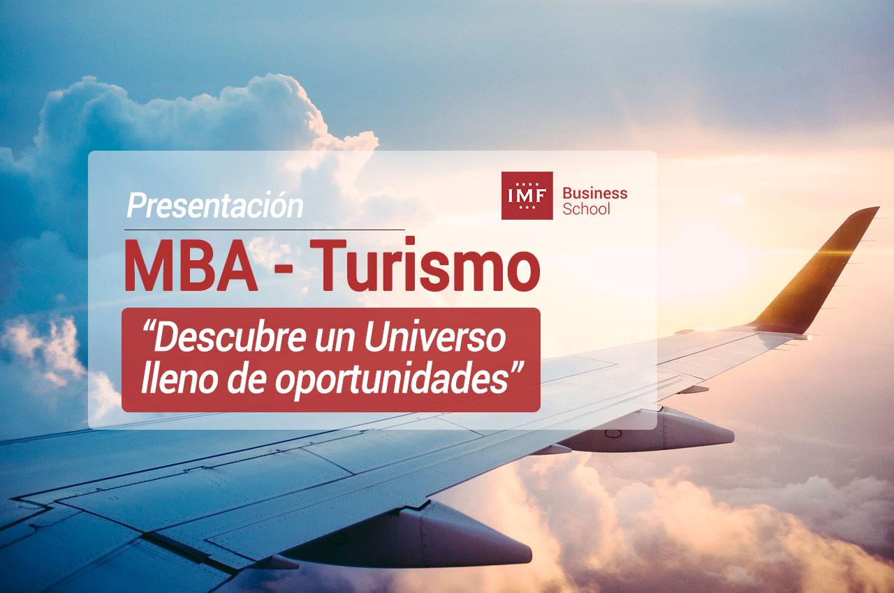 especial-mba-turismo1 IMF organiza una Mesa Redonda para descubrir las oportunidades del sector del Turismo