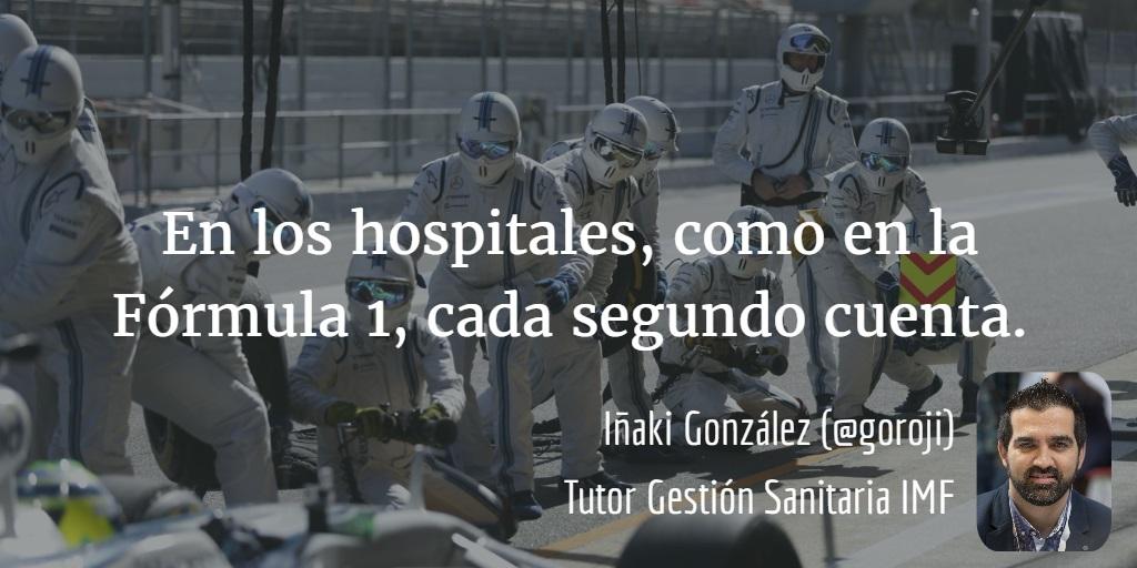 Hospitales-fomula-1 En los hospitales, como en la Fórmula 1, cada segundo cuenta