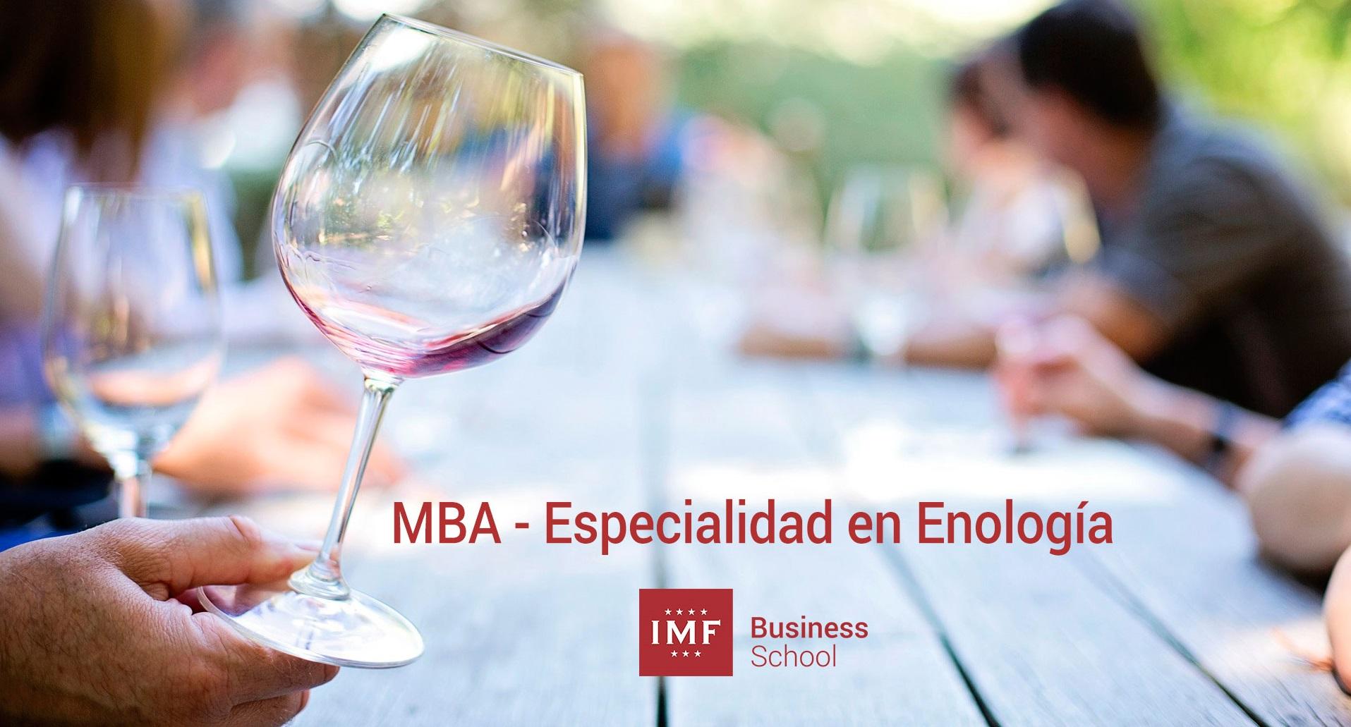 Máster en Dirección y Administración de Empresas (MBA) - Especialidad en Enología