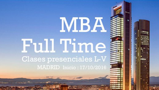 MBA Master in Business Administration Full Time