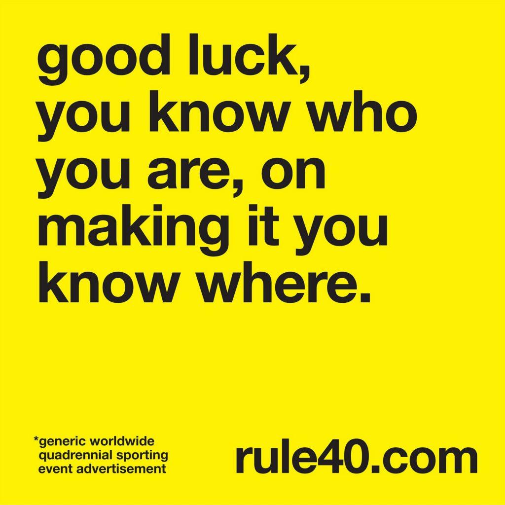 publicidad-juegos-olimpicos-1024x683 La Regla 40, el tabú de la publicidad