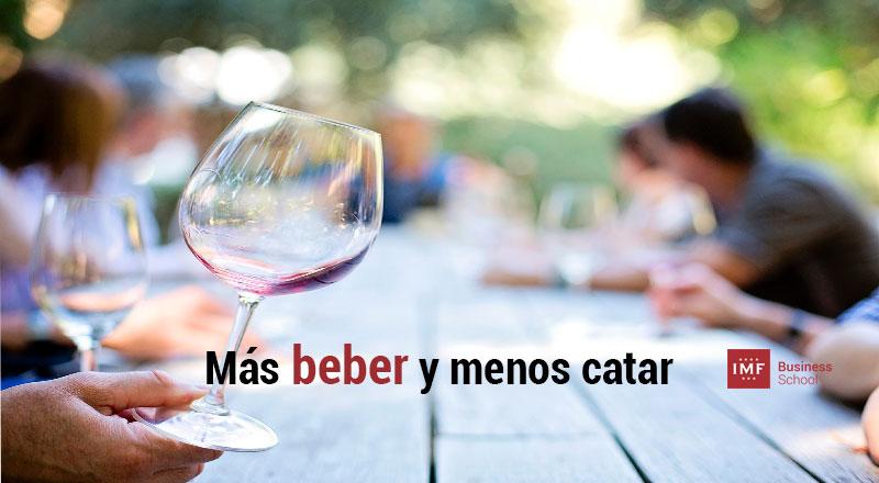 mas-beber-menos-catar-vino Mas beber y menos catar