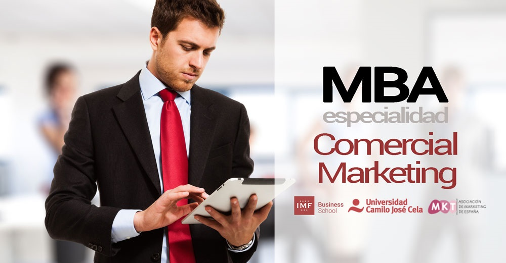 MBA especializado en Dirección Comercial y Marketing