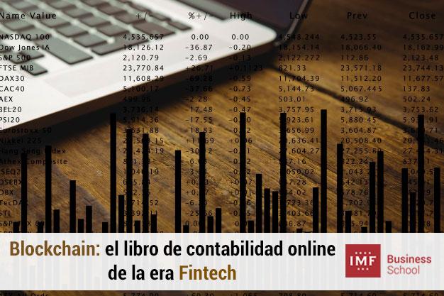 blockchain-contabilidad-fintech Blockchain: el libro de contabilidad online de la era Fintech